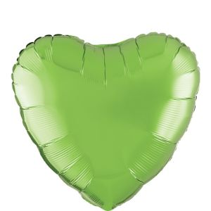 Kiwi Green Heart Balloon