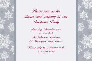 Custom Shining Season Christmas Invitations