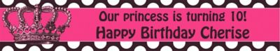 Rocker Princess Custom Banner 6ft