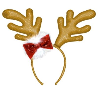 Glitter Antlers Headband