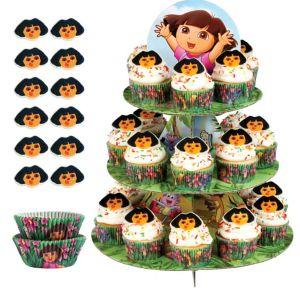Dora the Explorer Cupcake Kit For 24