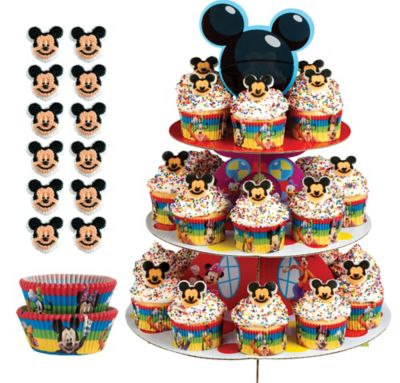 Mickey Mouse Cupcake Kit For 24