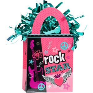 Rocker Girl Balloon Weight 5.5oz