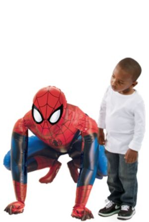 Giant Gliding Spider-Man Balloon 36in