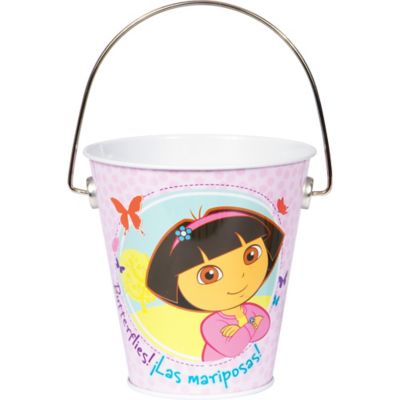 Dora the Explorer Metal Pail