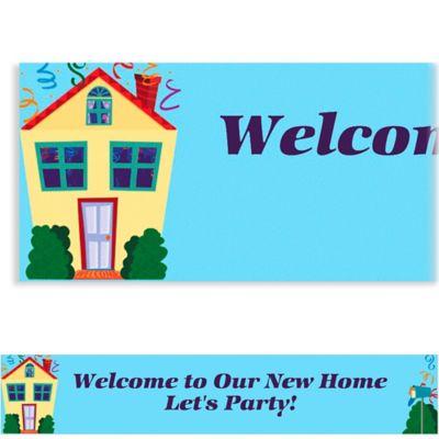 Housewarming Custom Banner 6ft