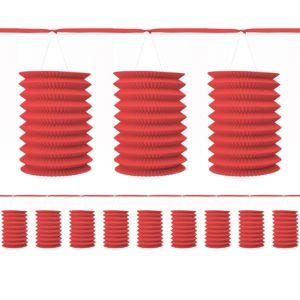 Red Lantern Garland