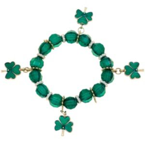 Stretch St. Patrick's Day Charm Bracelet
