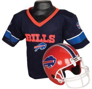 Child Buffalo Bills Helmet & Jersey Set