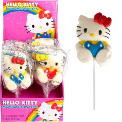 Hello Kitty Marshmallow Pops 12ct