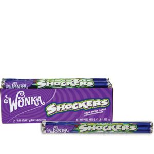 Wonka Shockers Candy Rolls 24ct