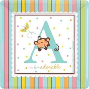 Fisher-Price ABC Baby Shower Dinner Plates 18ct