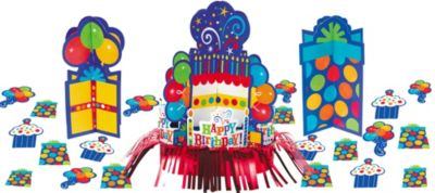 Birthday Fever Table Decorating Kit 23pc