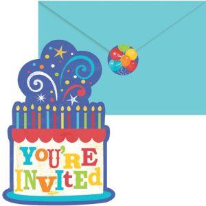 Birthday Fever Invitations 20ct