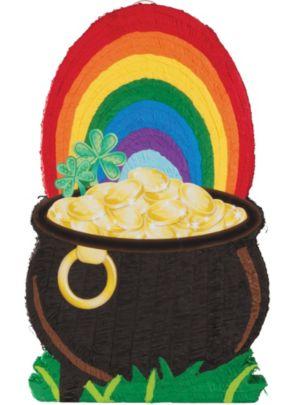Giant St. Patricks Day Pot Of Gold Pinata