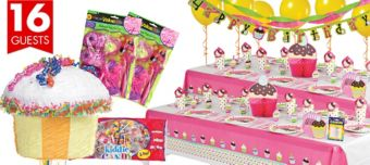 Cupcake Ultimate Party Kit for 16 Guests