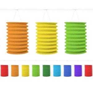 Rainbow Lantern Garland