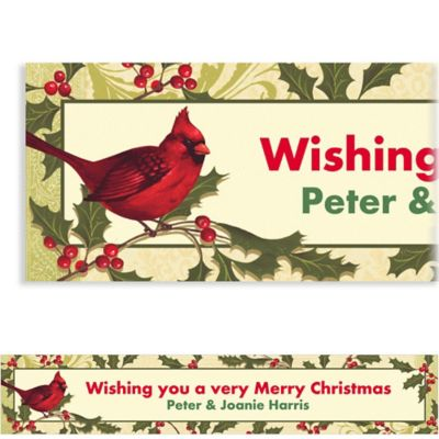 Holiday Tidings Custom Christmas Banner