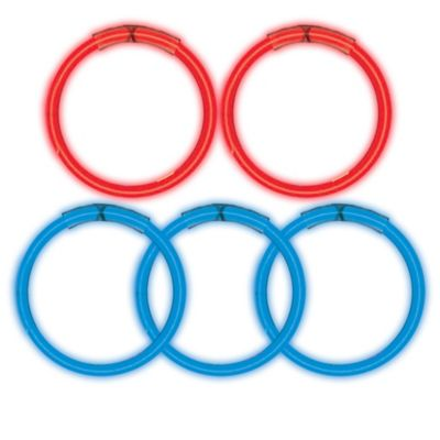 Red & Blue Glow Sticks 5ct