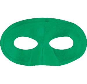 Green Fabric Eye Mask
