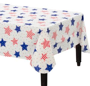 American Classic Flannel-Backed Vinyl Table Cover