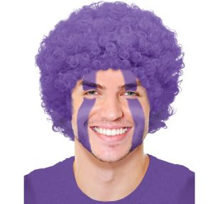 Purple Afro Wig