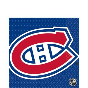 Montreal Canadiens Lunch Napkins 16ct