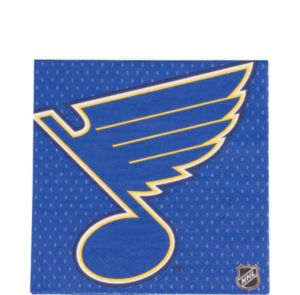 St. Louis Blues Lunch Napkins 16ct