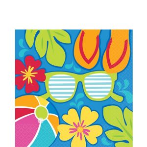 Summer Splash Lunch Napkins 36ct