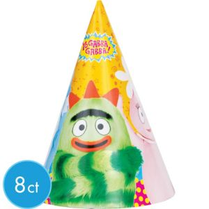 Yo Gabba Gabba! Party Hats 8ct