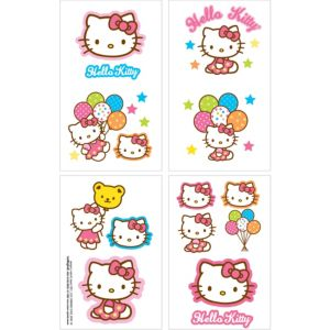 Hello Kitty Tattoos 1 Sheet