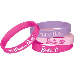 Barbie Wristbands 4ct