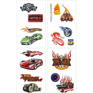 Hot Wheels Tattoos 1 Sheet