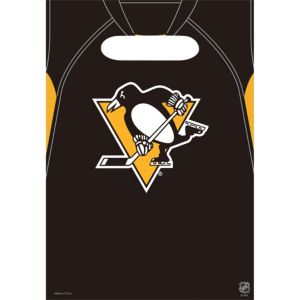 Pittsburgh Penguins Favor Bags 8ct