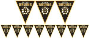 Boston Bruins Pennant Banner