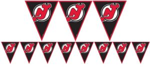 New Jersey Devils Pennant Banner