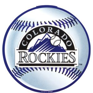Colorado Rockies Cutout