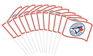 Toronto Blue Jays Mini Flags 12ct