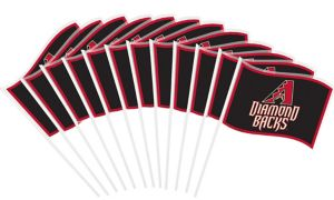 Arizona Diamondbacks Mini Flags 12ct