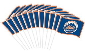 New York Mets Mini Flags 12ct