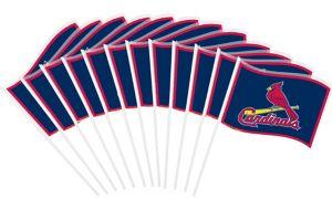 St. Louis Cardinals Mini Flags 12ct