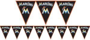 Miami Marlins Pennant Banner