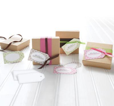 Printable Favor Gift Tag Sheets 48ct