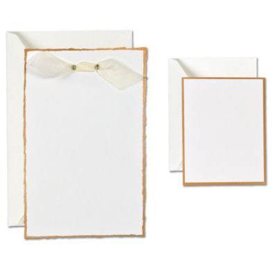 Gold Edge Printable Wedding Invitations Kit 25ct