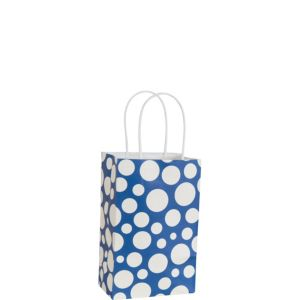 Blue Dot Mini Gift Bag