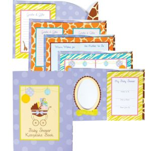 Modern Mommy Baby Shower Keepsake Book