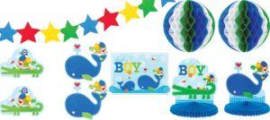 Ahoy Baby Boy Room Decorating Kit 10pc