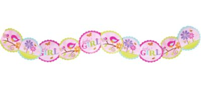 Tweet Baby Girl Printed Garland 8ft