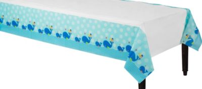 Ahoy Baby Boy Paper Table Cover