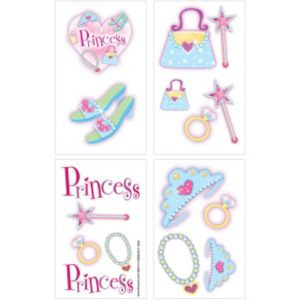 Princess Tattoos 1 Sheet